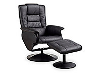 Monte Swivel Reclining Chair And Ottoman