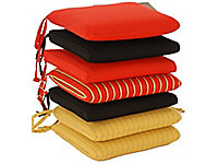 Chair cushions by Classic Cushion