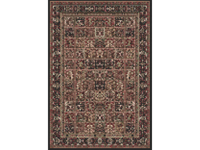 "Round 8'0"" Black Panel by World Rug Traders"