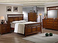 Trudy Queen Panel Bed
