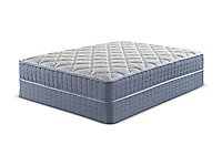 Dryden Plush Queen Low Profile Mattress Set