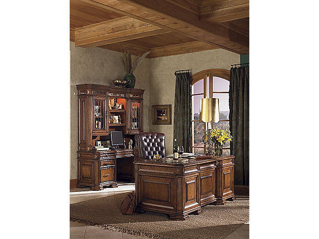 "Barolo 72"" Executive Desk by Aspenhome"