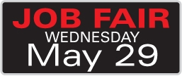 Attend our Job Fair on May 29 at our Coon Rapids Corporate Headquarters.
