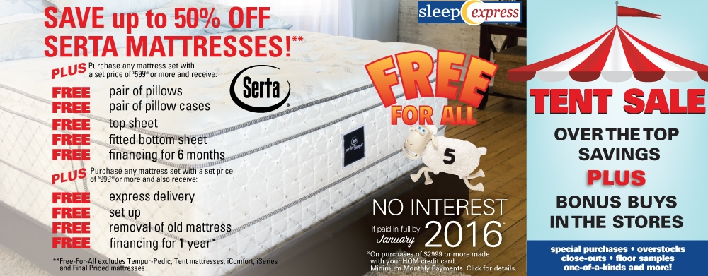 Mattress Free For All Event Going on NOW!