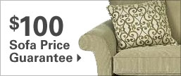 $100 Sofa Price Guarantee