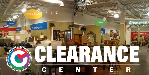 Colossal Clearance Center at HOM Furniture